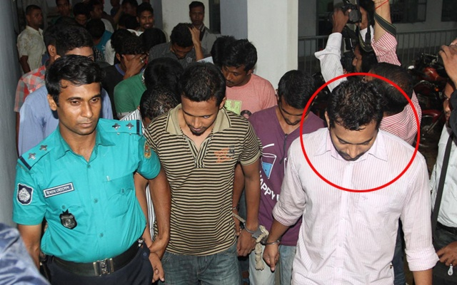 Expelled Chhatra League leader Saiful Alam Limon (The photo was taken on June 25)