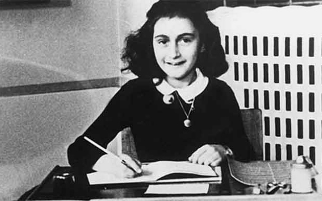 Anne Frank. Photo: Public Domain/Wikimedia Commons.