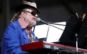 Musician Dr. John performs during the New Orleans Jazz and Heritage Festival in New Orleans, Louisiana in this file photo taken April 26, 2013. Credit: Reuters
