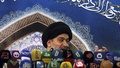 Iraqi cleric Ahmed al-Safi, an aide of Grand Ayatollah Ali Sistani, speaks as he delivers the text of a sermon by Sistani during Friday prayers at the Imam Hussein shrine in the holy city of Kerbala August 15, 2014. REUTERS