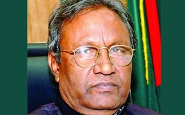Former state minister for youth and sports Ahad Ali Sarker is the vice president of Awami League's Natore unit. File photo