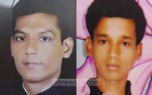 Bodies of 32-year-old Md Shariful Islam Sharif (left) and 24-year-old Jumman Mia were recovered from a ditch at Gazipur's Tongi.