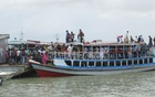 Heavy crowding at Kanthalbari-Shimulia for Eid trips