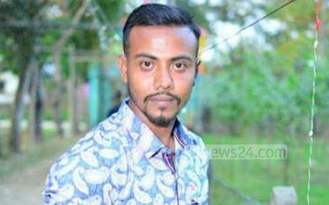Khaled Ahmed Litu, who suffered gunshot wounds, was rushed to the Biyanibazar state-run hospital where the doctors declared him dead.