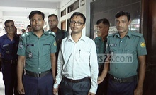 Barguna UNO Tariq Salmon was in jail for two hours after a lawyer sued him for publishing the photo of Bangabandhu Sheikh Mujibur Rahman on an invitation card for the local administration's Independence Day programmes.