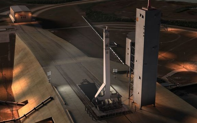 Upgraded Falcon 9 rocket set for launch in Florida