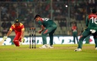Burl's maiden T20I fifty revives Zimbabwe to 144 against Bangladesh