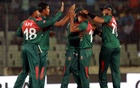 Wet outfield delays toss in Bangladesh T20 tri-series opener against Zimbabwe