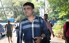 Former Indian cricketer Sourav Ganguly arrives to file his nomination for the president's post of BCCI (Board Of Control for Cricket in India) at the BCCI headquarters in Mumbai, India, October 14, 2019. Reuters
