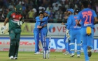Bangladesh post 153 against sloppy India in second T20