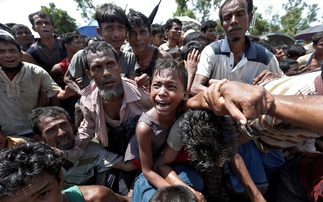 'More than 500000' Rohingya enter Bangladesh