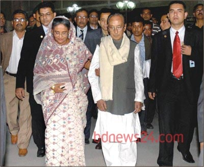 Zillur Rahman with Sheikh Hasina in 2009 when Awami League took office second time.