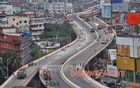 The Mayor Mohammad Hanif Flyover in Dhaka is a public-private partnership initiative. File photo