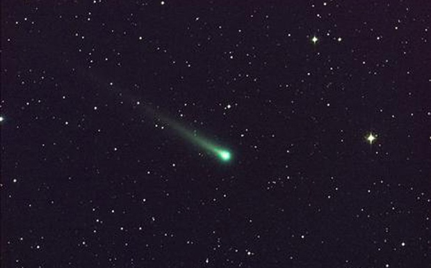 Comet ISON is seen in this five-minute exposure taken at NASA's Marshall Space Flight Center (MSFC) on November 8 at 5:40am EST (1040 GMT), courtesy of NASA. Credit: Rreuters/Aaron Kingery/NASA/MSFC/Handout via Reuters