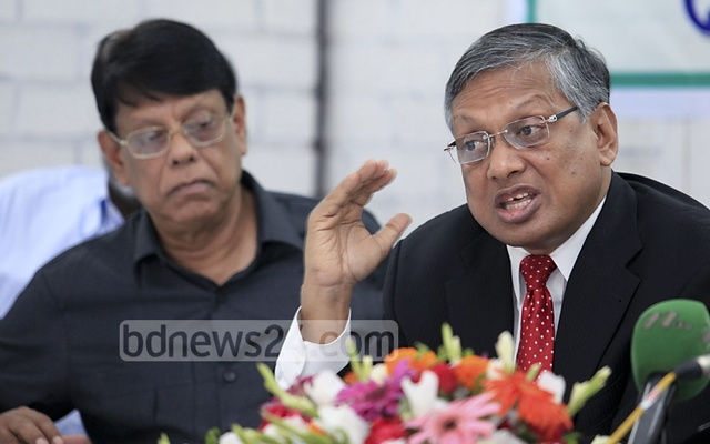 Opposition MP and Jatiya Party Secretary General Ziauddin Ahmed Bablu demanded pressing criminal charges against the finance minister. File photo