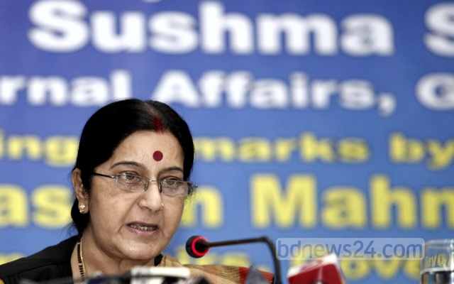 Sushma Swaraj assures Pakistan woman of granting medical visa