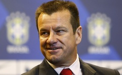 Brazil's new manager Dunga, whose full name is Carlos Caetano Bledorn Verri, at a news conference in Rio de Janeiro July 22, 2014. Reuters