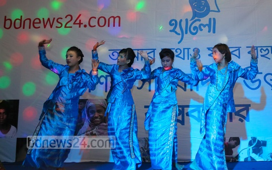 Child journalism festival begins in 23 districts to select journalists for the world's first specialised Bangla child journalism site Hello. Photo: mustafiz mamun/ bdnews24.com