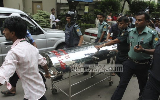 War crimes convict Abdul Alim died while under treatment at the prison cell of the Bangabandhu Sheikh Mujib Medical University (BSMMU) Hospital on Thursday. Photo: nayan kumar/ bdnews24.com
