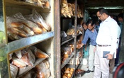 Mobile court raids a biscuit factory at Dhaka's Khilgaon area on Thursday as part of an anti-adulteration drive. Photo: bdnews24.com