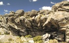 Cunchaicha rock shelter in Peruvian Andes is shown in this handout image released on October 22, 2014. Reuters