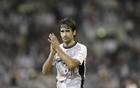 Raul of Spain reacts during the Emir Cup final match against Al-Sailiya at Khalifa stadium in Doha May 17, 2014. Reuters