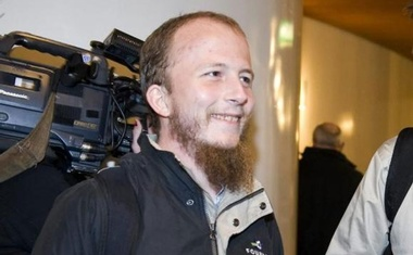 Gottfrid Svartholm Warg, the co-founder of Pirate bay, is pictured in Stockholm, February 16, 2009. Reuters