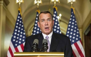 Speaker of the House John Boehner (R-OH) denounces the executive order on immigration made by U.S. President Barack Obama during a statement on Capitol Hill in Washington November 21, 2014. Credit: Reuters