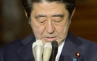 Japan's Prime Minister Shinzo Abe speaks to the media at his official residence in Tokyo in this Jan 25, 2015 photo by Kyodo. Reuters