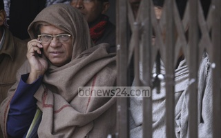 BNP leader Rizvi has been releasing statements from a hideout for the past few weeks. File photo