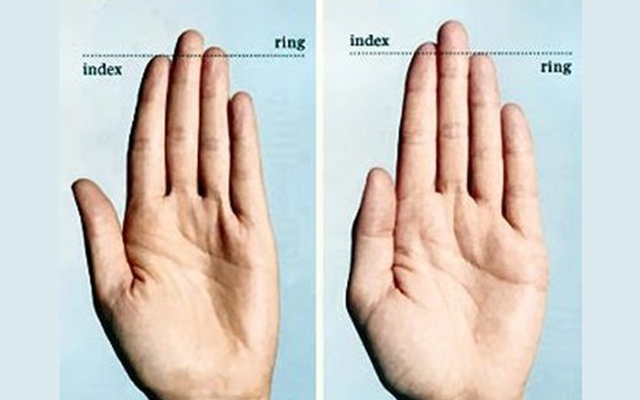 Men With Short Index Finger And Long Ring Finger Are Nicer
