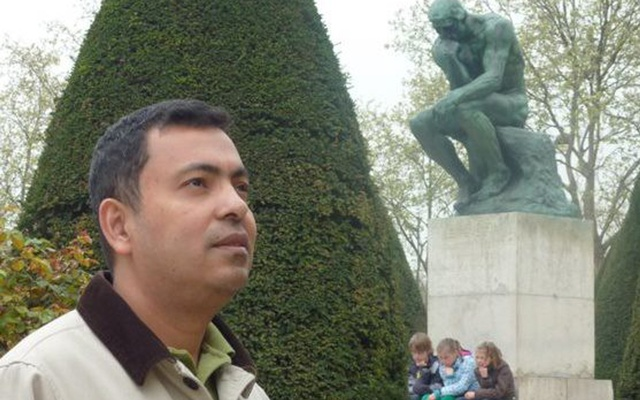 Bangladesh-American writer-blogger Avijit Roy was threatened by purported radicals for his secular writings