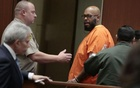 Rap mogul Marion ''Suge'' Knight (R) appears in court with his lawyer David Kenner (L) in Los Angeles, California March 2, 2015. Reuters