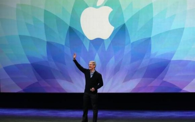 Apple CEO Tim Cook speaks during an Apple event in San Francisco, California March 9, 2015. Reuters
