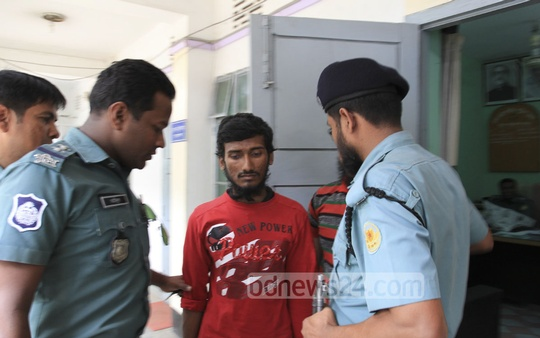 Police arrest two for suspected involvement to the attack on online activist Washiqur Rahman alias Babu. Photo: asif mahmud ove/ bdnews24.com