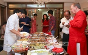 Guests at the bdnews24.com get-together to welcome the Bengali New Year.