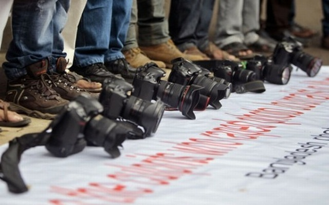Rights activists and journalists have termed Section 57 'draconian' saying the law-enforcing agencies can misuse it. File photo