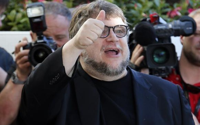 Jury member film director Guillermo del Toro arrives at the Grand Hyatt Cannes Hotel Martinez on the eve of the opening of the 68th Cannes Film Festival in Cannes, southern France, May 12, 2015. Reuters