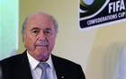 FIFA President Sepp Blatter arrives to a media briefing to discusss the Confederations Cup and the latest preparations for next year's World Cup finals in Brazil, in Rio de Janeiro July 1, 2013. Reuters