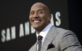 Cast member Dwayne Johnson poses at the premiere of ''San Andreas'' in Hollywood, California May 26, 2015. The movie opens in the U.S. on May 29. Reuters