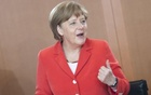German Chancellor Angela Merkel arrives for the weekly cabinet meeting at the Chancellery in Berlin, Germany, May 27, 2015. Reuters