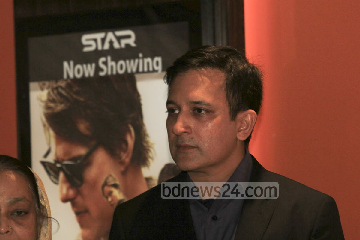 Mahboob Rahman, chairman of Show Motion Ltd that runs and manages the STAR Cineplex, hosted a star-studded ceremony to mark the launch of two