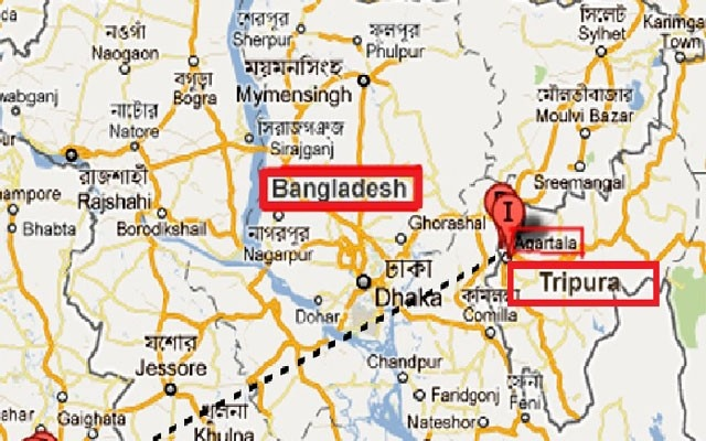 Two Bangladesh nationals arrested in Indias Tripura trying to