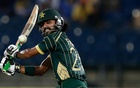 FILE PHOTO: Pakistan's Fawad Alam plays a shot during their first ODI (One Day International) cricket match against Sri Lanka in Hambantota August 23, 2014. Reuters