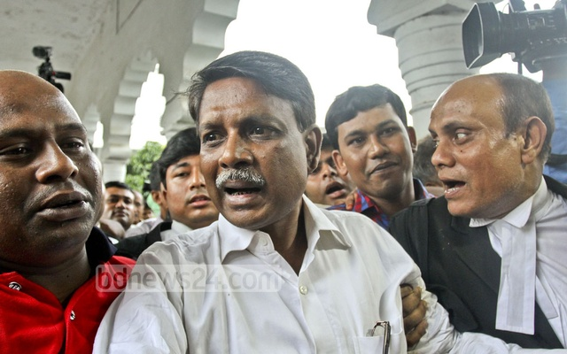 Awami League MP Liton had allegedly shot a nine-year-old boy. He is also accused of looting, vandalism in another case filed by a resident in his constituency. File photo