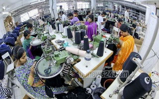 Readymade garments account for over 80 percent of Bangladesh's export earnings. File photo