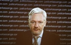 WikiLeaks founder Julian Assange appears on screen via video link during a news conference at the Frontline Club in London, BritainFebruary 5, 2016.