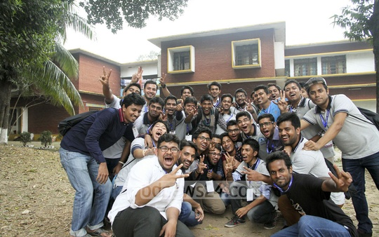 Reunion programme of the former students of Dhaka Residential Model College was marked by joyous celebrations.