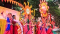 King of the seasons, spring is welcomed with dance and songs at Bakultala of Faculty of Fine Arts of Dhaka University on Saturday morning. Photo: mostafigur rahman