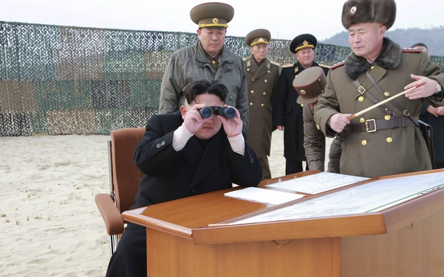 North Korea's Kim Jong-Un puts military on 'pre-emptive attack' mode